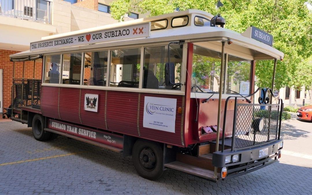 """RUBY"" The Subiaco Tram!"